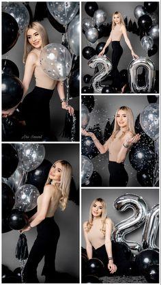 Birthday Goals, 18th Birthday Party, Birthday Celebration, Girl Birthday, 21st Bday Ideas, Birthday Balloon Decorations, Glam Photoshoot, Photoshoot Themes, Cute Birthday Pictures