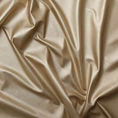 Gold Faux Leather Dress Making Clothing Leatherette Lycra Stretch Fabric PVC Material