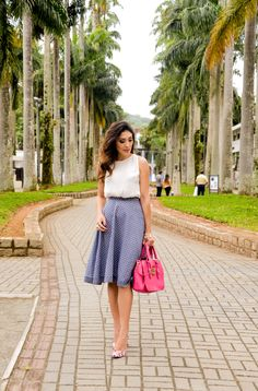 Summer work style | feminine style | @suisantana