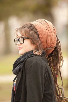 I love it when people with dreads do this. (So that's where that passion comes from!)