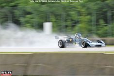 Gray Gregory demonstrating the real art of racing in the rain in his 1977 Chevron at the 2019 Weathertech International Challenge at Road America Road Racing, Pickup Trucks, Chevron, Rain, Challenges, America, Photos, Pictures, Usa