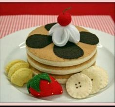 Hot cake decoración