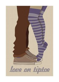 Love on Tiptoe...cuz im short