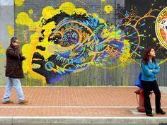 Stinkfish #uniquestreetart #greatstreetartists #freewalls #graffitiart #art #urbanartists #streetart #stinkfish