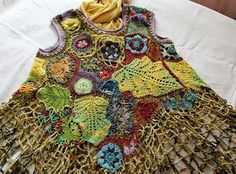 Ravelry: foodknitter's Version 2:Wild dress for civilized forest witch
