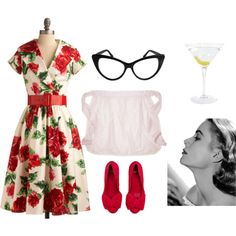 Costumes The lazy girl's guide to an easy Halloween costume. - The lazy girl's guide to an easy Halloween costume. Classy Halloween Costumes, Halloween Kostüm, Vintage Halloween, Halloween Makeup, Patron Tequila, Housewife Costume, 1950s Housewife, Girl Costumes, Costume Ideas