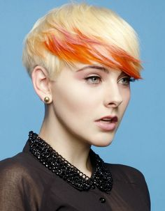 There is nothing more dynamic than a women who is bold enough to make a statement with her hair