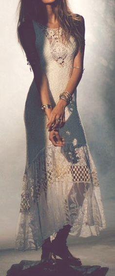 >>> boho lace crochet <<<