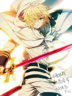Do you like vampires? seraphoftheend seraphoftheendedit mikaelahyakuya mikaxyuu seraph_of_the_end seraphoftheendvampirereign seraphoftheendmika owarinoseraph mikaxyuuforever anime_ animecouples⭐️ Otaku Anime, Manga Anime, Anime Art, Manga Cute, Cute Anime Guys, Anime Love, Espada Anime, Mika Hyakuya, Familia Anime