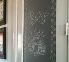 On the KBtribe Blog - Etched glass door to walk-in pantry. #Kitchen #KitchenDesign