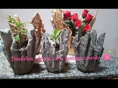 DIY Up-Drip Flower Vase from waste cloth   How to Make   JK Arts 491 - YouTube