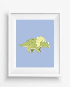 Dinosaur Print,Dinosaur Wall Decor, Dinosaur Art Retro,Nursery Decor,digital Prints, Playroom Decor,Fun Nursery Art,Baby Art Print,
