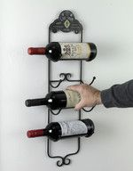 Inspiration Cave A Vins Wall Mounted Wine Rack Wall Mounted Wine on Furniture Cool Collection Metal Wall Mounted Wine Racks Hanging Wine Rack, Wine Rack Wall, Home Interior Catalog, Wine Racks For Sale, Wine Rack Design, Wine Rack Storage, Wine Bottle Holders, Italian Wine, Iron Wall