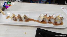 Smooth Salmon sushi