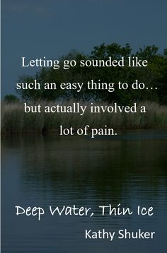 This is a quote from Deep Water, Thin Ice. The story, as well as being a suspenseful mystery, deals with bereavement and grief and all the myriad confusing emotions that they provoke. Uk Sites, Best Mysteries, Singing Career, House By The Sea, Deep Water, Bereavement, Sounds Like, Real People, Grief