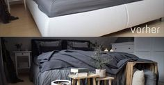 Betthusse Diy Bett, Bed, Furniture, Home Decor, Beautiful Things, Nice Asses, Decoration Home, Stream Bed, Room Decor