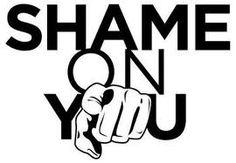 Shame On You  www.CheriSpeak.com