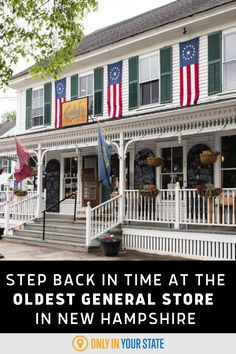 New Hampshire is rife with America's history, and home to one of the oldest general stores in America. Take a day trip to step back in time to 19th century America and shop at this store which has lasted the test of time for five generations.