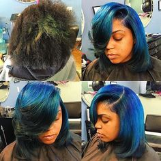 STYLIST FEATURE| Amazing #haircolor transformation styled by #lastylist @hairstylistof_la Come through BLUE #voiceofhair ========================== Go to VoiceOfHair.com ========================= Find hairstyles and hair tips! =========================