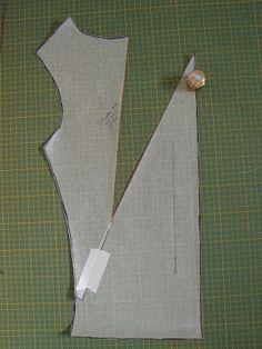 PoldaPop Designs: Free Sewing Tutorial: Draft a deep cowl neck top