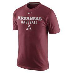 Nike College Legend (Arkansas) Men's T-Shirt Size Small
