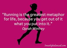 In honor of National #RunningDay on June 5 - Running Quote