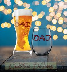 Dad Glass, Father's Day Gift, Dad Tools Glass, Drinking Glass for Dad, Dad Wine Glass, Dad Beer Glass, Cool Dad, Dad Mug, Father Coffee by Cre8tiveDeZinez on Etsy