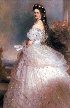 Robe de mariée princesse sissi