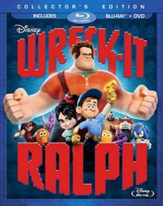 Wreck-It-Ralph (Collector's Edition) (Blu-ray + DVD) (Sous-titres français) Ralph Disney, Disney Blu Ray, Gamer's Guide, Jane Lynch, Skylar Astin, Walt Disney Animation Studios, Wreck It Ralph, Popular Videos, Prime Video