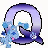 Alfabeto de las Pistas de Blue. | Oh my Alfabetos!