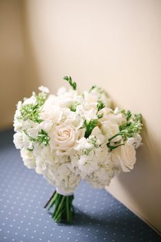 Classic white summer bouquet: http://www.stylemepretty.com/massachusetts-weddings/nantucket/2016/06/01/nautical-weddings-take-note-this-is-how-its-done/ | Photography: Brklyn View Photography - http://brklynview.com/