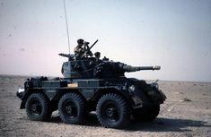 Saladin Armoured Car in Aden