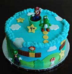 Super Mario Bros. Cake by Snacky French