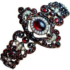 Bulgari High Jewelry Collection | Antique Victorian Era Garnet Bracelet