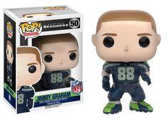 Seattle Seahawks Jimmy Graham Pop! Series 3 Vinyl Figure (backorder)