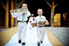 Carteles ¡que viene la novia!