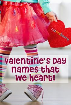 Here are a few unusual names less obviously related to love and hearts, and here are 12 of the best, not just for babes born this time of year, but for every adorable recipient of love at any time! Strong Girl Names, Cute Girl Names, Baby Girl Names Unique, Beautiful Girl Names, Strong Girls, Baby Names 2018, Unusual Names, Months In A Year, Happy Valentines Day