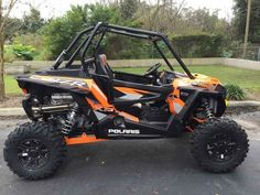 New 2016 Polaris RZR XP Turbo EPS Spectra Orange ATVs For Sale in Florida.