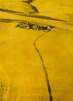 Palouse Hills, National Geographic 1952