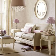 Find sophisticated detail in every Laura Ashley collection - home furnishings, children's room decor, and women, girls & men's fashion. Interior, Home Furnishings, Laura Ashley Living Room, Decor Inspiration, Elegant Living Room, Home Decor, House Interior, Interior Design, Elegant Interiors