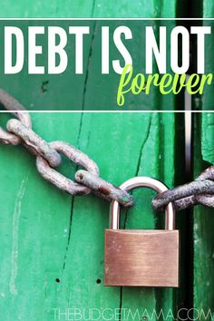 Debt is comfortable. Even before we can legally own debt, we have been sold on the idea that adult life must have debt, but debt is not forever.