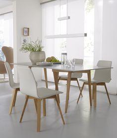 Chaise En Cuir MAVERICK Collection Maverick By KFF | Design Birgit Hoffmann