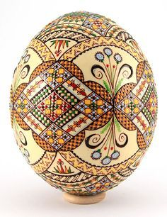 Easter eggs from the Bukovina, Rumania
