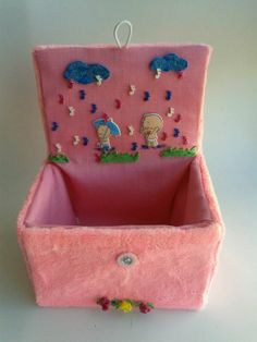 con decoración infantil https://www.facebook.com/pages/Cajasenteladas/565939910162236
