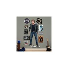 Dean Ambrose ($110) ❤ liked on Polyvore featuring home and home decor