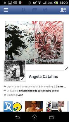 J'ai un profil sur Facebook.