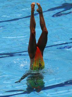 Natação sincronizada - Competir pela entrada no Olimpo