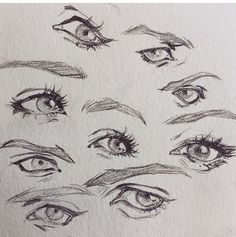 Amazing Learn To Draw Eyes Ideas. Astounding Learn To Draw Eyes Ideas. Anime Drawings Sketches, Pencil Art Drawings, Cool Art Drawings, Sketches Of Eyes, Eye Drawings, Eye Drawing Tutorials, Drawing Techniques, Art Tutorials, Anatomy Drawing