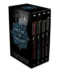 House of Night TP boxed set (books 5-8): Hunted, Tempted, Burned, Awakened (House of Night Novels)