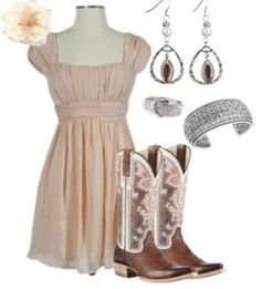 ~~country fashion~~ I love those boots!!!